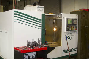 Our Bridgeport CNC Mill